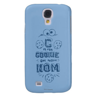 C is for Cookie Galaxy S4 Case