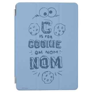 C is for Cookie iPad Air Cover