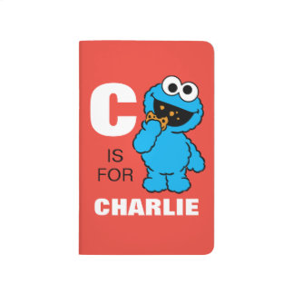 C is for Cookie Monster | Add Your Name Journal