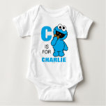 C is for Cookie Monster Baby Bodysuit