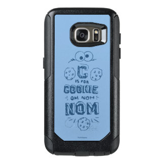 C is for Cookie OtterBox Samsung Galaxy S7 Case