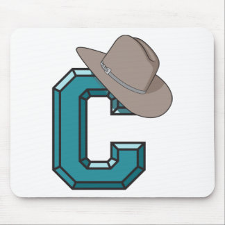 C is for Cowboy Mouse Pad