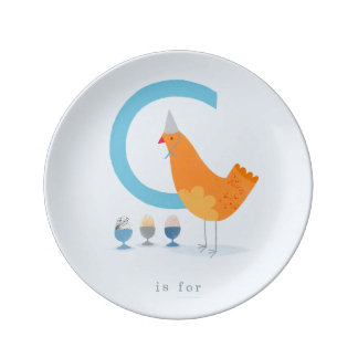 C is for... plate