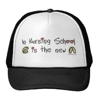 C is the new A in Nursing School Mesh Hat