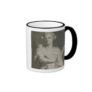 C. Julius Caesar (100-44 BC) Emperor of Rome engra Ringer Mug