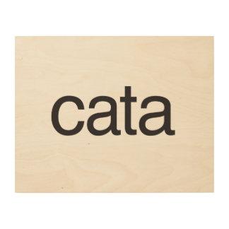 c/p wood canvas