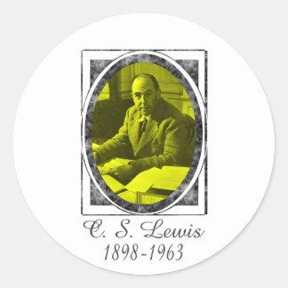 C.S. Lewis Classic Round Sticker