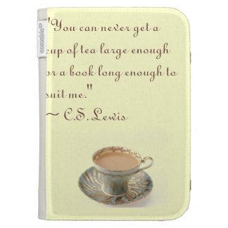 C S Lewis Kindle Case Quote