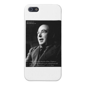 C.S. Lewis Love/Enchantments Love Quote Gifts iPhone 5 Covers