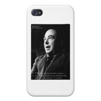 C.S. Lewis Love/Enchantments Love Quote Gifts Case For iPhone 4