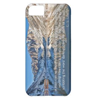 C.S. Lewis quote and Convict Lake iPhone 5C Case