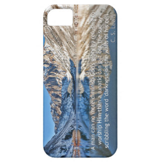 C.S. Lewis quote and Convict Lake iPhone 5 Covers