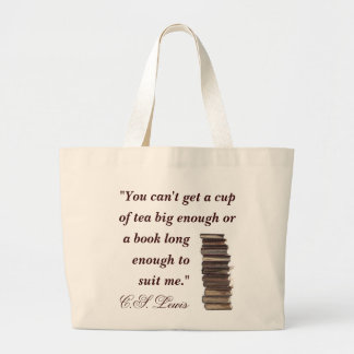 C.S. Lewis Quote Bag