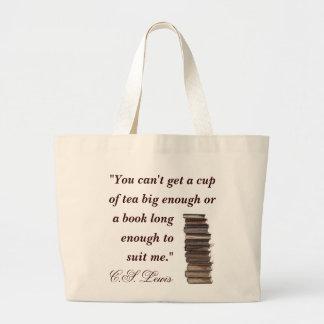 C S Lewis Quote Bag