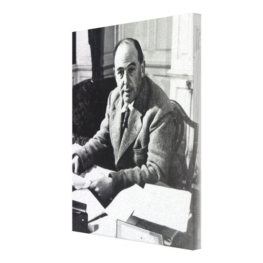 C.S. Lewis Stretched Canvas Print