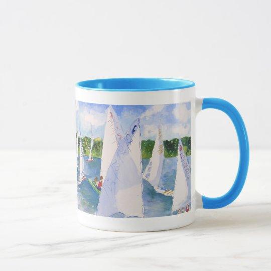 c scows lining up mug
