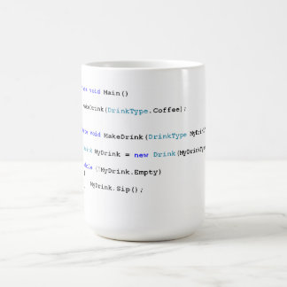 C Sharp Programmers Coffee Mug