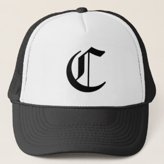 C-text Old English Trucker Hat