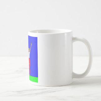 C TreePose.jpg Basic White Mug