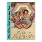 C. U. in FLORIDA Postcard