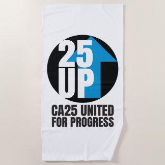 CA25UP Beach Towel