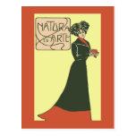 ca 1900 Vintage Italian Ladies' Fashion 2 Post Cards