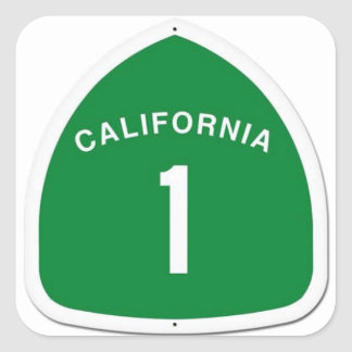 CA 1 Sticker