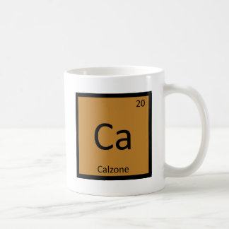 Ca - Calzone Chemistry Periodic Table Symbol Coffee Mug