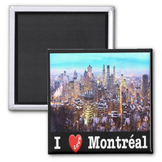 CA - Canada - Montreal - I Love Magnet