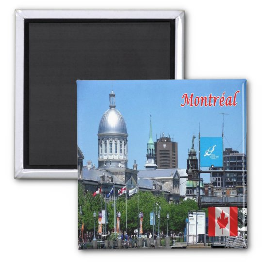 CA - Canada - Montreal - Panorama Magnet