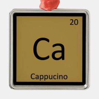 Ca - Cappucino Coffee Chemistry Periodic Table Ornament