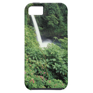 CA, Costa Rica. La Paz waterfall and impatients iPhone 5 Case