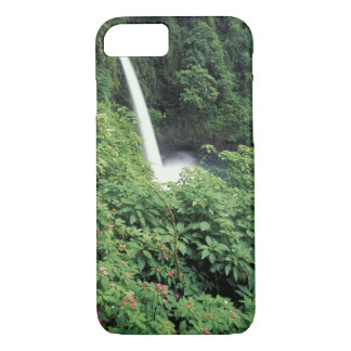 CA, Costa Rica. La Paz waterfall and impatients iPhone 8/7 Case