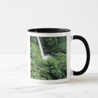 CA, Costa Rica. La Paz waterfall and impatients Mug
