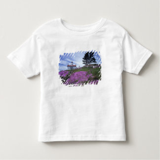 CA, Crescent City, Battery Point lighthouse with Toddler T-Shirt