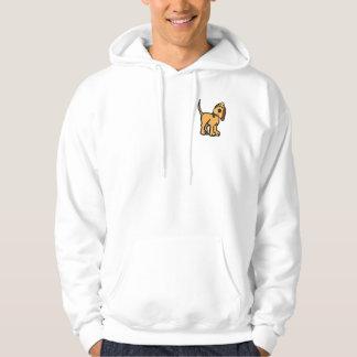 CA- Cute Hound dog Cartoon Sweatshirt
