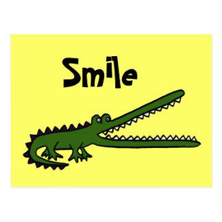 CA- Funny Croc Postcard