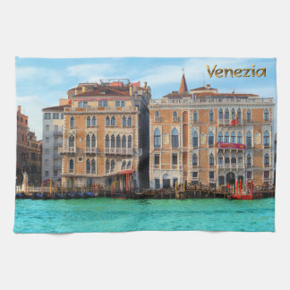 Ca' Giustinian and Bauer Il Palazzo Tea Towels