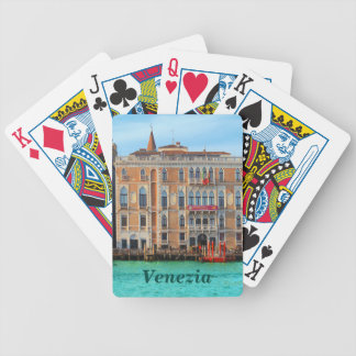 Ca' Giustinian and Palazzo Bauer Poker Deck