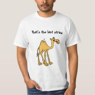 CA- Last Straw Camel T-shirt