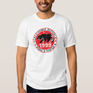CA REpublic born and raised in 1999 Tee Shirt