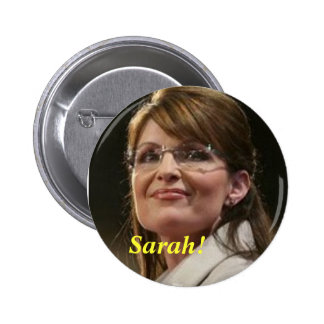 CA- Sarah! Political Button