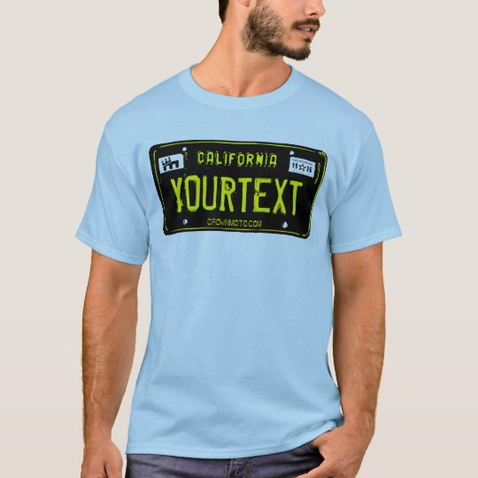 CA Vintage Plate (template) T-Shirt