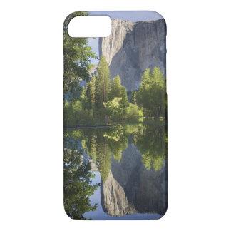 CA, Yosemite NP, El Capitan reflected in Merced iPhone 8/7 Case