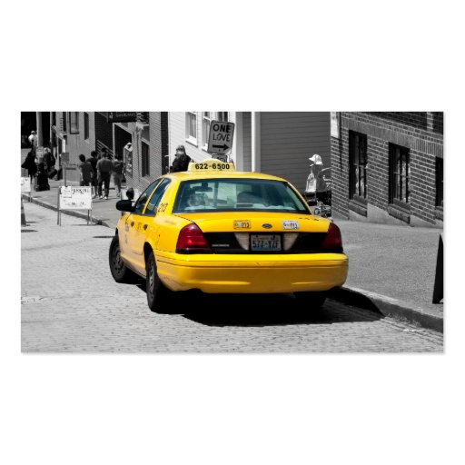 Cab Company Drivers cards Business Cards