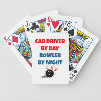 Cab Driver by Day Bowler by Night Poker Deck