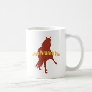 Caballo Peruano de Paso Rust Mugs