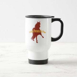 Caballo Peruano de Paso Rust Coffee Mug