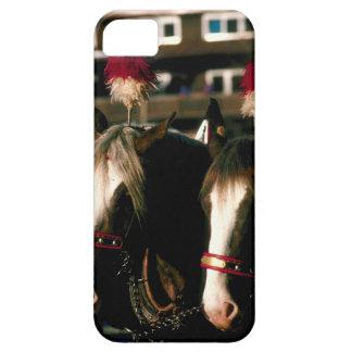 Caballos con los tocados barely there iPhone 5 case