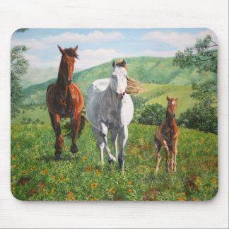 caballos mouse mat